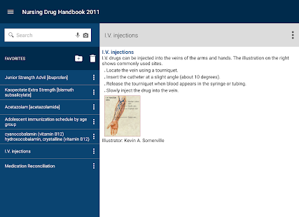 Nurse's Drug Handbook- screenshot thumbnail
