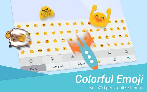 Emoji One TouchPal Plugin  screenshots 4