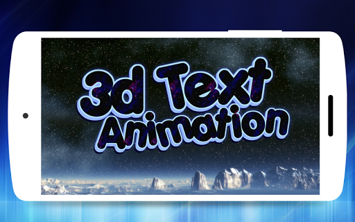 3D Text Animator - Intro Maker, 3D Logo Animation  screenshots 4