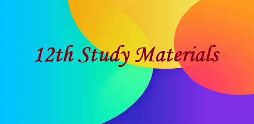 12th Study Materials - Apps on Google Play
