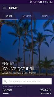 SPG: Starwood Hotels & Resorts - náhled