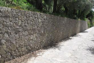 Photo: Muro di contenimento a secco (nuovo)