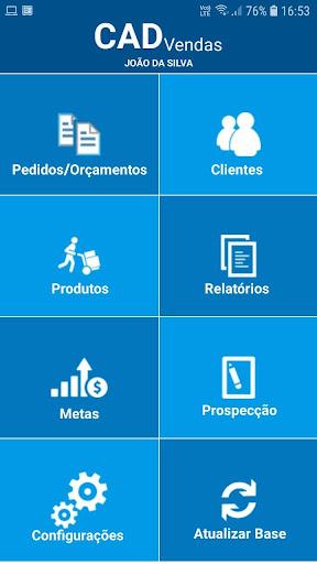 CAD Vendas screenshot 1