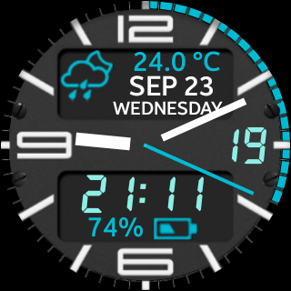 Watch Face Military style