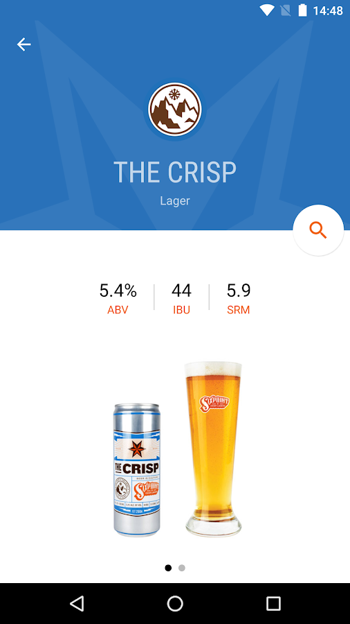 Sixpoint Beer Finder- screenshot