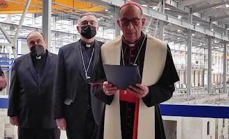 El cardenal Omella visita Almería