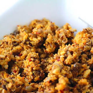 Versatile Lentil and Walnut Stuffing.