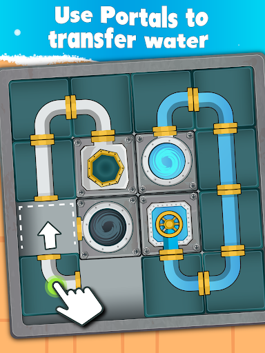 Water Pipes Slide apktram screenshots 12