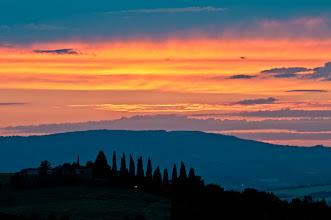 Photo: Sunset over Umbria