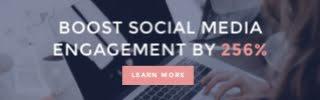 Claudia Social Media - Large Leaderboard Ad Mobile Template