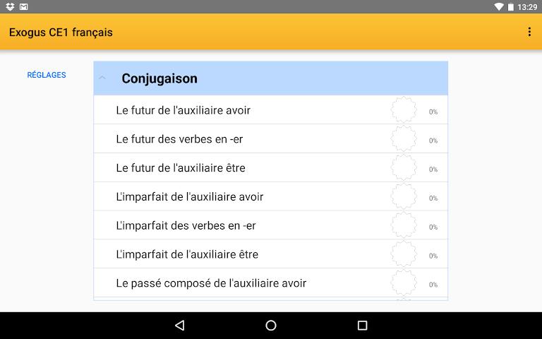 android Exogus CM2 Révision français Screenshot 11