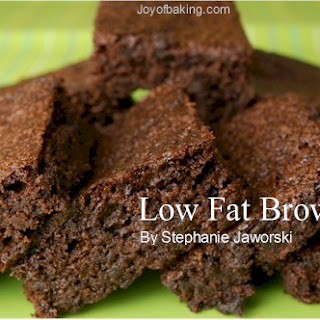 Low-Fat Brownies Tested Recipe