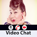 Live video chat with real girl(prank) icon
