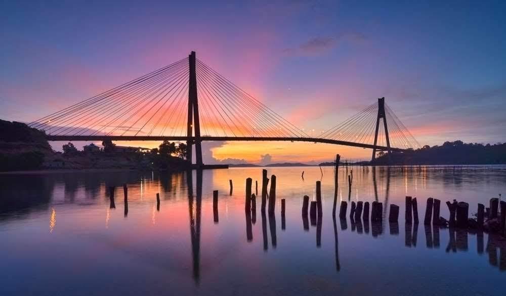 Sunrise Jembatan Barelang Batam