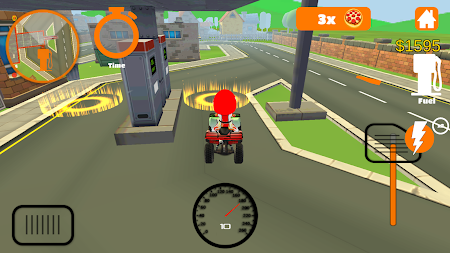 Racing Pizza Delivery Baby Boy 1.0 screenshot 11195