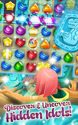 Genies & Gems - Jewel & Gem Matching Adventure- screenshot thumbnail
