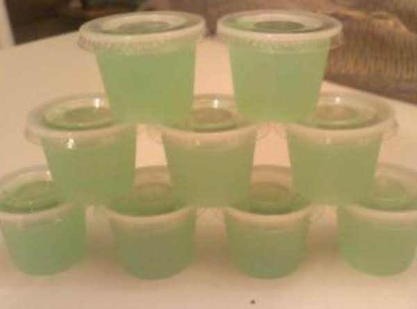 Coconut Melon Ball Jello Shots Recipe