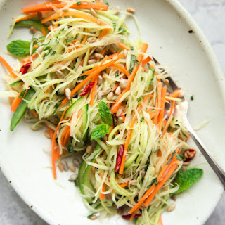 Green Papaya Salad (Vegan) Recipe