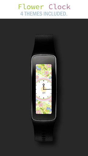 Flower Clock for Gear Fit