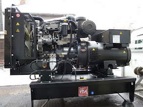 Photo: Generator Perkins 105 kVA, FabricadePaine, Teleorman