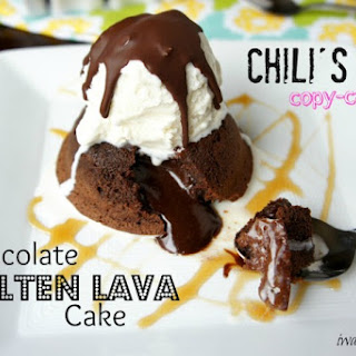 Chili's Copy-cat Chocolate Molten Lava Cake