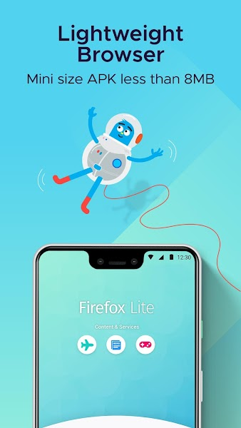 Firefox Lite Screenshot Image