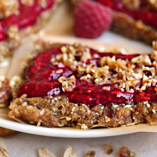 No-Bake Raspberry Chia Breakfast Bar