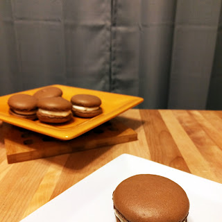 Chocolate Spiced Macarons #SundaySupper