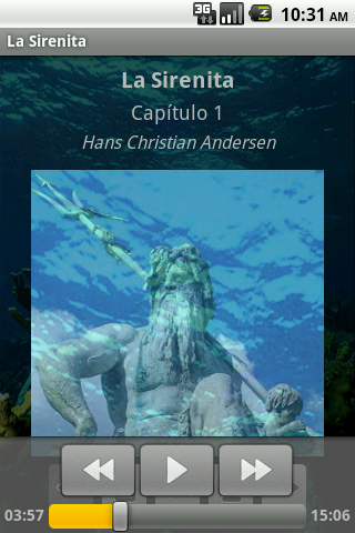 La Sirenita - AudioEbook - screenshot