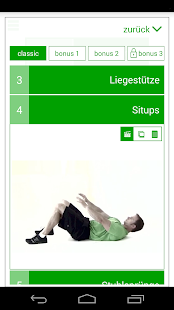 7-Minuten-Trainingseinheit Capture d'écran