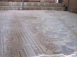 Photo: Byzantine mosaics from the original chapel