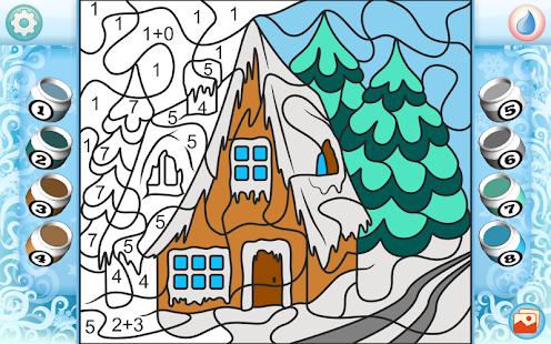 Рисуй по номерам - Рождество_2