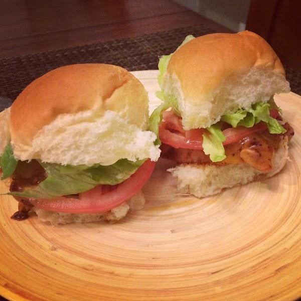 Bbq Chicken Sliders Recipe