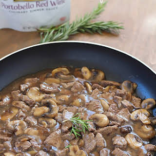 Beef and Mushrooms.