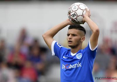Genk licht de optie in het aflopende contract van Amine Khammas