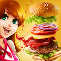 Fast Food Chef Truck : Burger Maker Game icon