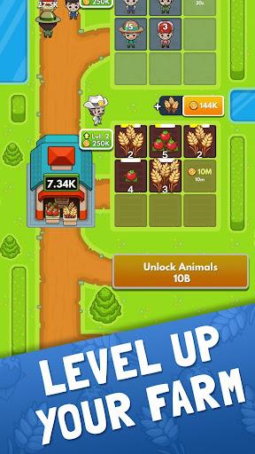 Idle Farm Tycoon - Merge Simulator apkpoly screenshots 4