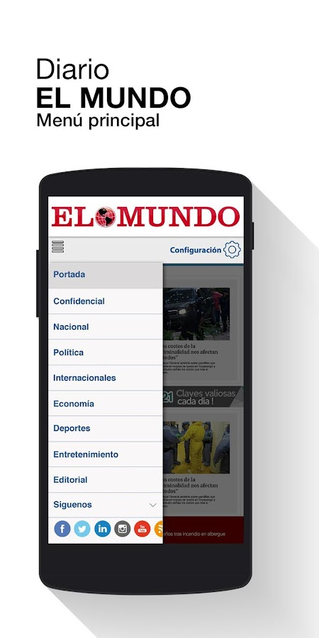 Diario El Mundo - El Salvador- screenshot