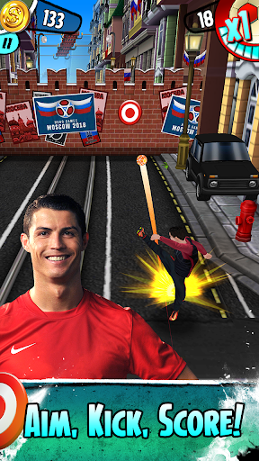 Cristiano Ronaldo: Kick'n'Run u2013 Football Runner  screenshots 1