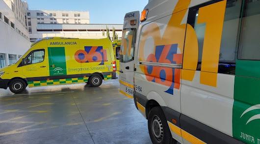 Un choque entre dos turismos en Almería deja heridos a una menor y tres adultos