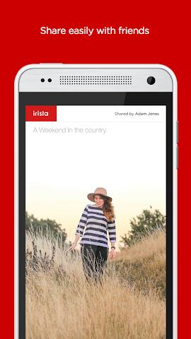 android irista Screenshot 3