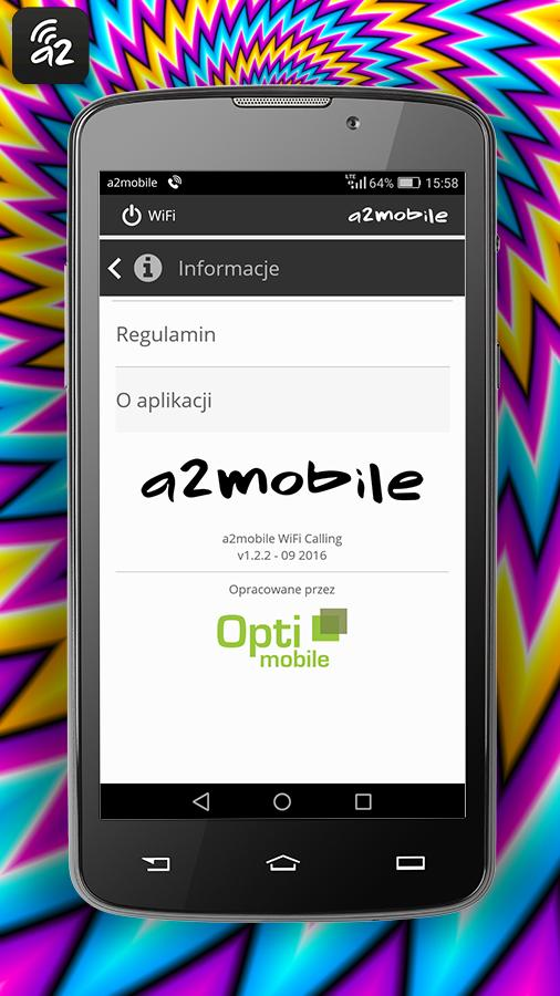 a2mobile WiFi Calling- screenshot