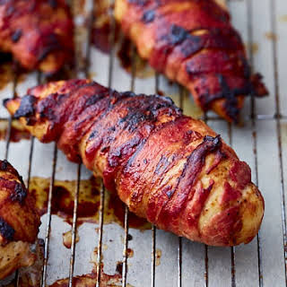 Crispy Bacon-Wrapped Chicken Breast.