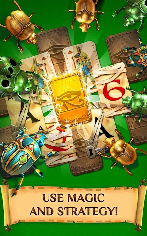 4 Pyramid Solitaire Saga App screenshot