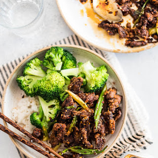 4-Ingredient Sichuan Crispy Beef.