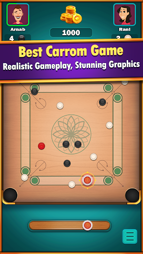 Carrom World : Online & Offline carrom board game apktreat screenshots 1