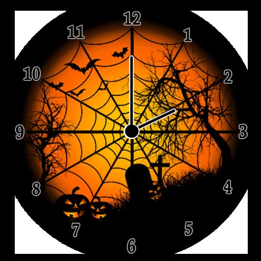 ハロウィーン アナログ時計 個人化 App LOGO-APP試玩