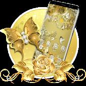 Tải Golden Butterfly  Luxury Launcher APK