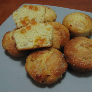 Apricot Muffins with a Crunchy Topping.