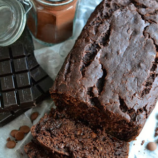 Double Chocolate Zucchini Bread (Gluten Free).